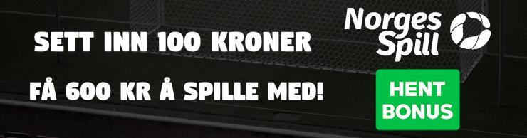 norgesspill 100 600 avlang nettside