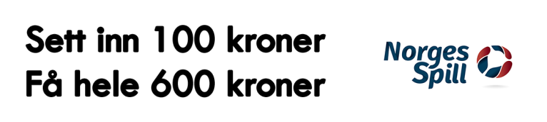norgesspill 100 600